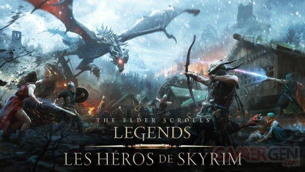 The Elder Scrolls Legends   Bande annonce Les Héros de Skyrim