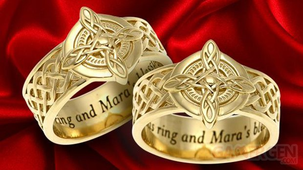 The Elder Scrolls Mara Bague Or