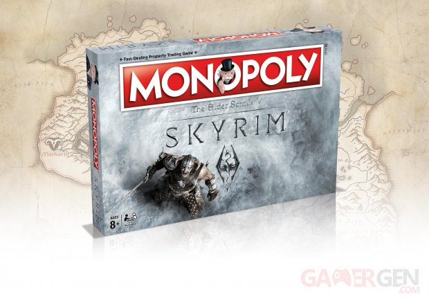 The Elder Scrolls V Skyrim monopoly merchoid 23 10 2016
