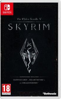 The Elder Scrolls V Skyrim switch jaquette image