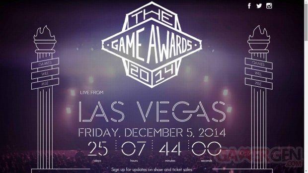 The Game Awards 2014 logo 1
