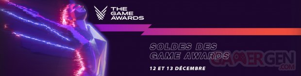The Game Awards 2019 Steam Soldes