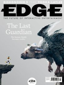 The Last Guardian Edge may 2016 cover