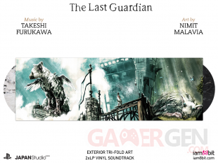 The Last Guardian vinyl cover 1