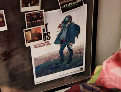 The Last of Us American Daughters Affiche Poster Uncharted 4