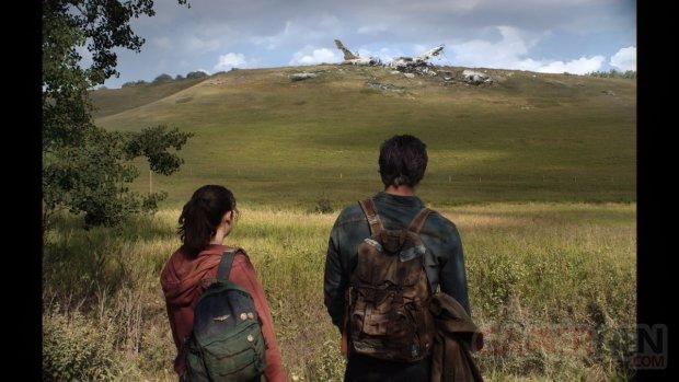 The Last of Us HBO série Joel Ellie on set tournage