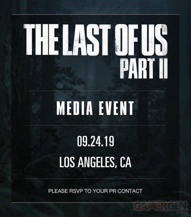 The Last of Us Part II media event 09 09 2019