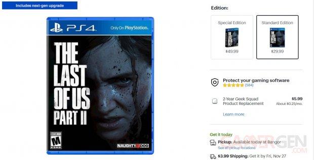The Last of Us Part II PS5 next gen upgrade best buy