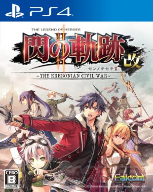 The Legend of Heroes Trails of Cold Steel II Kai The Erebonian Civial War jaquette 15 12 2017