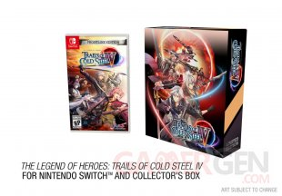 The Legend of Heroes Trails of Cold Steel IV édition limitée 03 04 2020