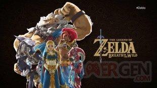 The Legend of Zelda Breath of The Wild 13 06 2017 L'Ode aux Prodiges art