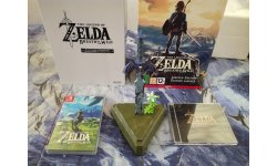 The Legend of Zelda Breath of the Wild collector unboxing deballage 31 05 03 2017