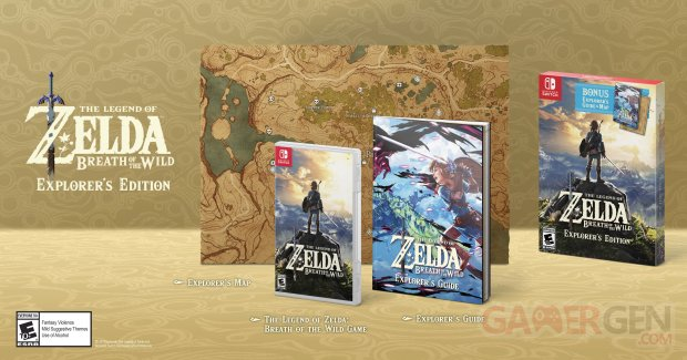 The Legend of Zelda Breath of the Wild  Explorer's Edition images