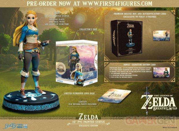 The Legend of Zelda Breath of the Wild figurine statuette F4F exclusive 01 25 10 2019