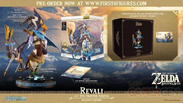 The Legend of Zelda Breath of the Wild figurine statuette F4F exclusive Revali 01 20 04 2021