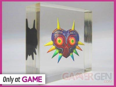 The Legend of Zelda Majora's Mask 3D bonus pre?commande GAME