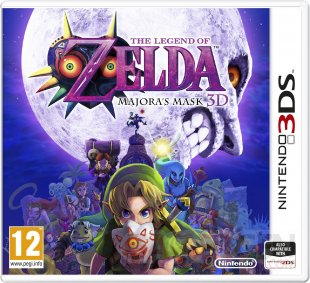 The Legend of Zelda Majora's Mask 3D jaquette