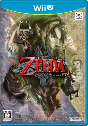 The Legend of Zelda Twilight Princess HD jaquetet japon (2)