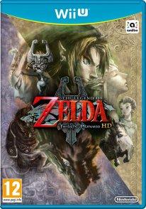 The Legend of Zelda Twilight Princess HD jaquette couverture coververdict note