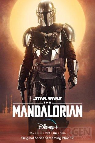 The Mandalorian Star Wars poster 1