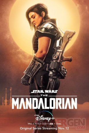 The Mandalorian Star Wars poster 2