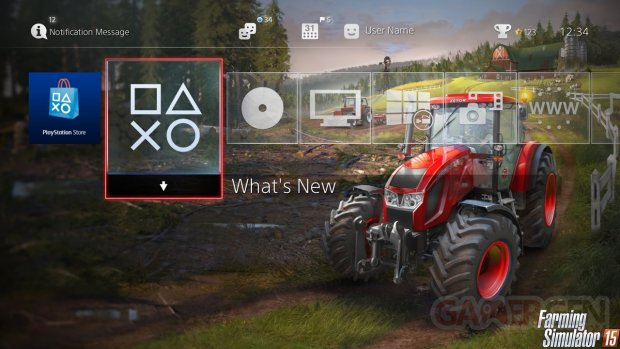 The?me PS4 Farming Simulator 15