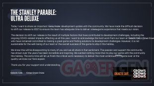 The Stanley Parable Ultra Deluxe Development Update 01