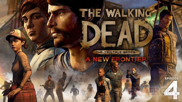 The Walking Dead A New Frontier Thicker than Water art