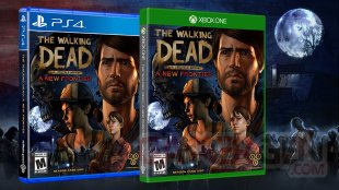 The Walking Dead A Telltale Game Series A New Frontier jaquette