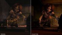 The Walking Dead Collection Graphics Comparison Collection Vs Original side by side wd1 3