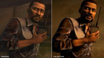 The Walking Dead Collection Graphics Comparison Collection Vs Original side by side wd1 4