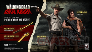 The Walking Dead Onslaught pre order