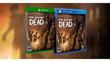 The Walking Dead saison 1 boites ps4 xbox one