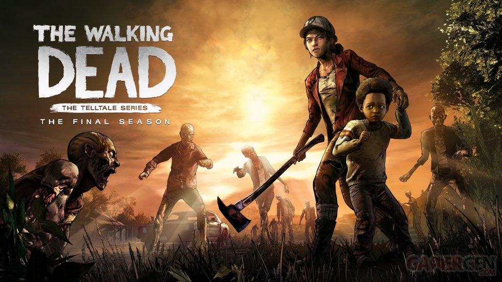 The Walking Dead The Final Season Key Art