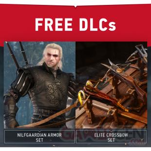 The Witcher 3 DLC gratuits vague 3