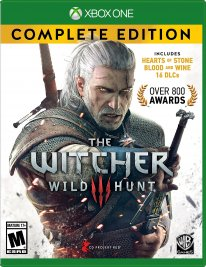 the witcher 3 game of the year complete edition jaquette cover xbox one