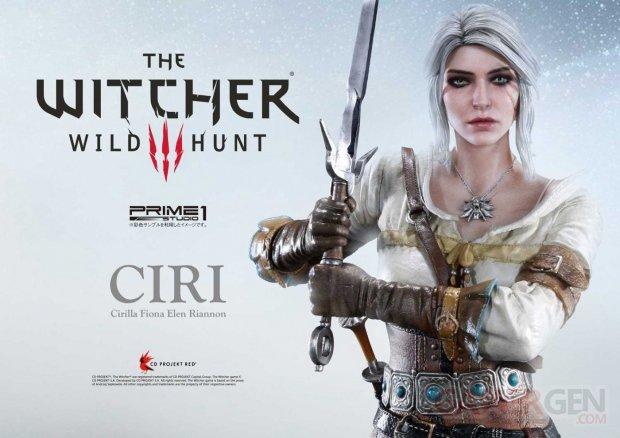 The Witcher 3 Premium Masterline Ciri aperçu 26 02 2018