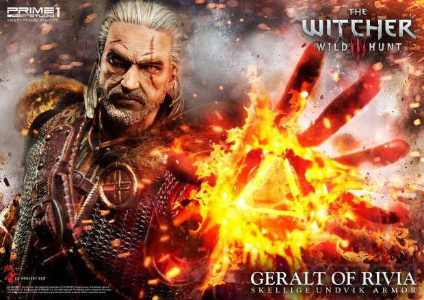The Witcher 3 Premium Masterline Geralt 51 18 07 2018