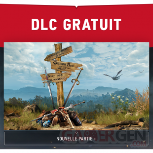 The Witcher 3 Wild Hunt 27 07 2015 DLC gratuit new game plus