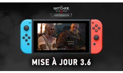 The Witcher 3 Wild Hunt edition Switch mise a jour image