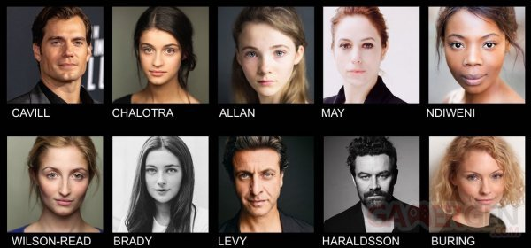The Witcher casting