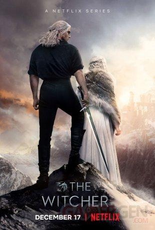 The Witcher saison 2 Netflix poster 10 07 2021