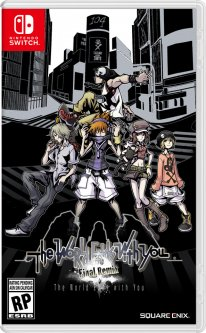 The World Ends With You Final Remix jaquette