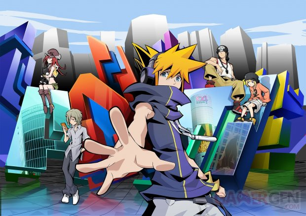 The World Ends With You The Animation 04 07 2020