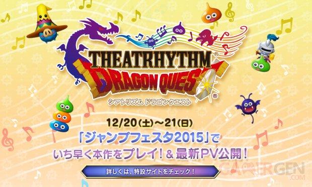 Theatrhythm Dragon Quest logo head