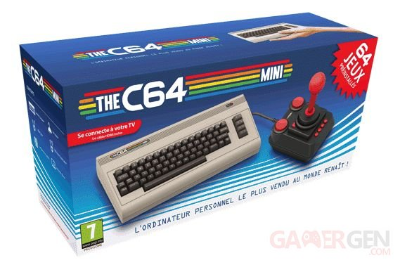 The C64 Mini : l'ancestral Commodore 64 revient le 29 mars