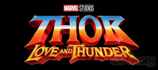 Thor Love and Thunder logo 21 07 2019