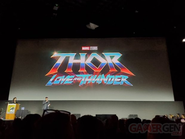 Thor Love and Thunder logo SDCC 21 07 2019