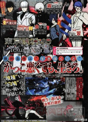 Tokyo Ghoul re Call to Exist scan 17 08 2018