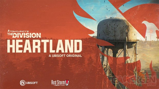 Tom Clancy's The Division Heartland key art